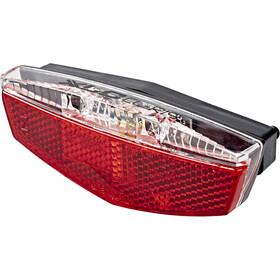 XLC Porte-bagages Feu arrière LED réflecteurs & feu de position inclus